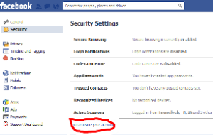 How to delete facebook account facebook smileys remembering you using this step you cannot able to reactivate your facebook account for doing this just go to deletion page and hit delete my account ccuart Images